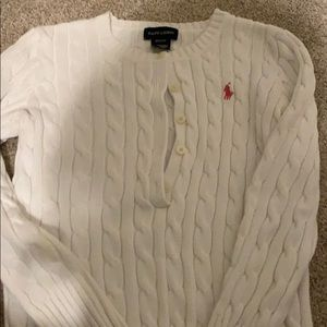 Polo long sleeved sweater